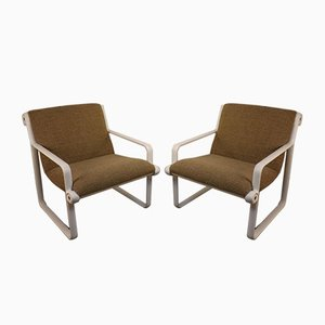 Lounge Chairs by Bruce Hannah & Andrew Morrison for Knoll Inc. / Knoll International, 1970s, Set of 2