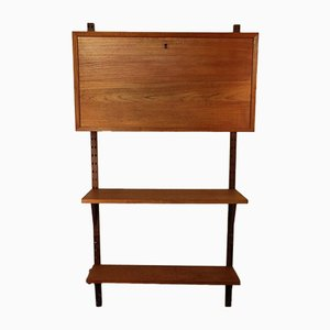 Scandinavian Wall Unit by Poul Cadovius, 1960s