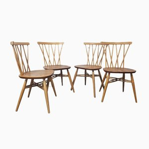 Candlestick Dining Chair by Lucian Ercolani for Ercol