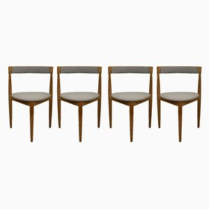 Tripod Dining Chairs by Hans Olsen for Frem Røjle, 1950s, Set of 4