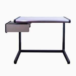 Metal Desk with Extendable Drawer from Hillebrand, 1970s