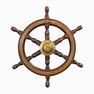 Vintage Ship's Wheel, 1950s