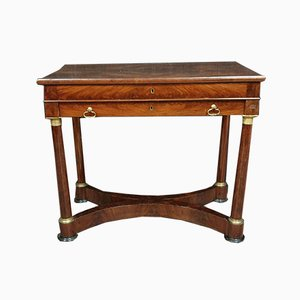 Empire Mahogany Dressing Table
