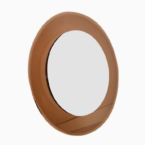 Round Vintage Italian Mirror