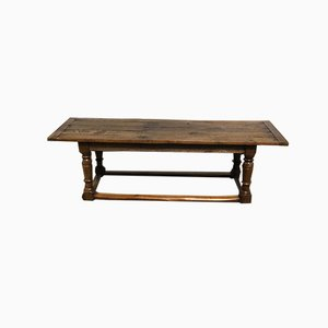 Large Oak Farmhouse Dining Table