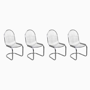 Dining Chairs by Gastone Rinaldi, 1970s, Set of 4