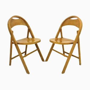 Vintage B751 Folding Chair by Michael Thonet for Thonet