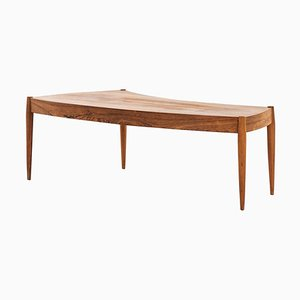 Swedish Rosewood Coffee Table by Johannes Andersen for Trensum, 1960s