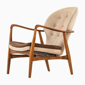 Danish Easy Chair by Ib Madsen & Acton Schubell, 1950s