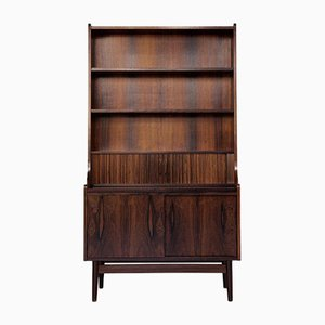 Mid-Century Danish Rosewood Secretaire Bookshelf from Nexø, 1960s