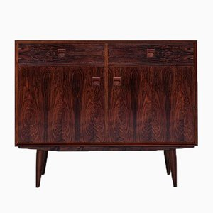 Small Mid-Century Danish Rosewood Cabinet with 2 Doors & 2 Drawers from Brouer, 1960s