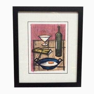 Still Life Print Framed by Bernard Buffet