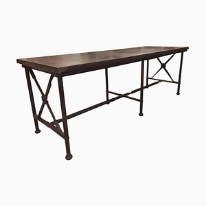 Wrought Iron Dining Table, 1980s