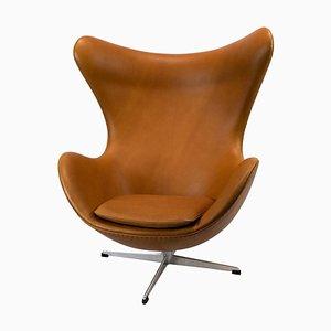 Egg chair nr. 3316 di Arne Jacobsen per Fritz Hansen, anni '70