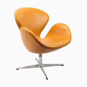 Modell 3320 Swan Chair von Arne Jacobsen für Fritz Hansen, 1950er