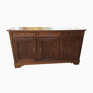 19th Century Walnut Sideboard with 3 Doors