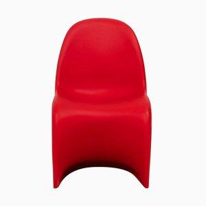 Sedia Panton rossa di Verner Panton per Vitra, 1999