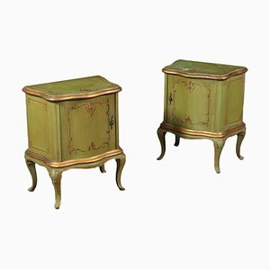 Barocchetto Style Bedside Tables, Set of 2