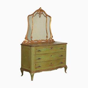 Barocchetto Style Dresser with Mirror