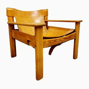 Vintage Safari Natura Lounge Chair by Karin Mobring for Ikea, 1970s
