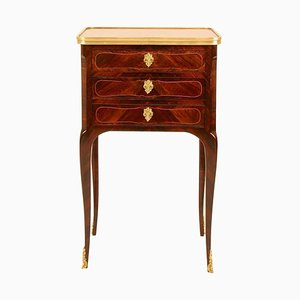 Small French Louis XV Transition Lounge Side Table, 1760