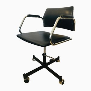 Black Office Chair from Kovona, 1970s