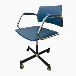 Navy Office Chair from Kovona, 1970s