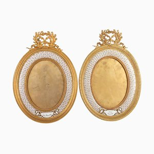 Louis XVI Style Bronze Frames, Set of 2