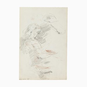 Studies, Original Pencil Drawing, 20th Century