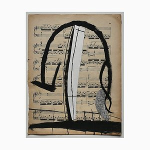 Musical Notes Mixed Media by Tommaso Cascella, 2009