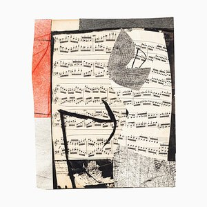 Musical Notes Mixed Media von Tommaso Cascella, 2009