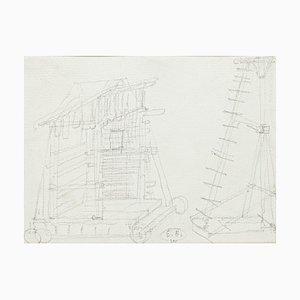 Construction d'un Crayon Théâtral Original par E. Berman