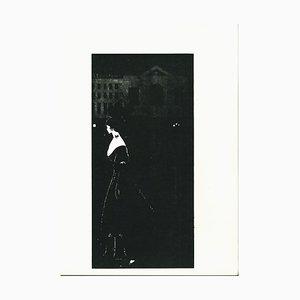 A Night Piece Lithografie von Aubrey Vincent Beardsley, 1970er