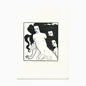 Lithographie The Comedy of the Rhinegold par Aubrey Vincent Beardsley, 1970s