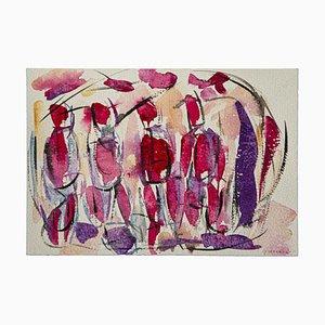 Forma originale acquarello su carta di Maurizio Gracceva, 2018