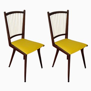 Vintage Italian Dining Chairs, 1950s, Set of 2