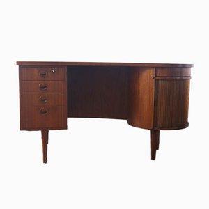 Model 54 Writing Desk with Bar Compartment from SB Feldballes Møbelfabrik, 1953