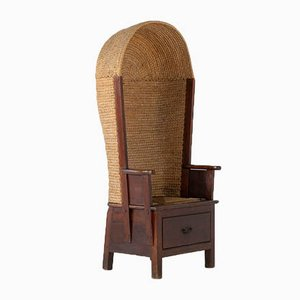 Late 19th-Century Orkney Chair by DM Kirkness