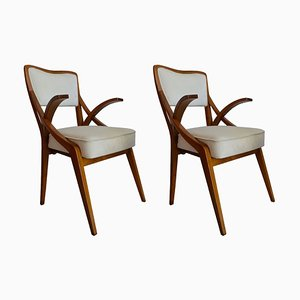 Lounge Chairs by Augusto Romano, 1950s, Set of 2