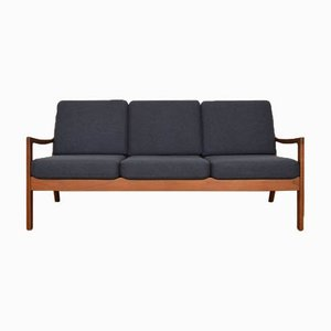 Danish Teak Senator Sofa by Ole Wanscher for Poul Jeppesens Møbelfabrik, 1950s