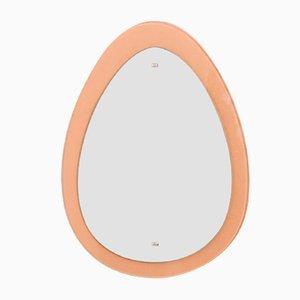 Ovaler Spiegel von Fontana Arte, 1960er Jahre