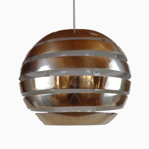 Le Monde Ceiling Lamp by Carl Thore / Sigurd Lindkvist for Granhaga Metallindustri, 1970s