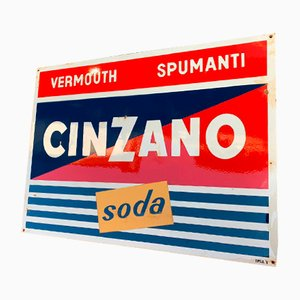 Mid-Century Cinzano Sign