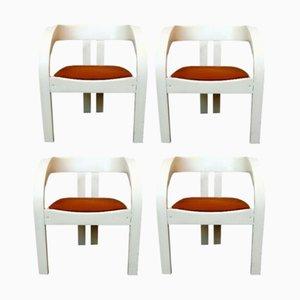 Modell Elisa Esszimmerstühle von Giovanni Battista Bassi für Poltronova, 1964, 4er Set