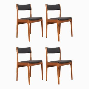Mid-Century Danish Teak Dining Chairs from Korup Stolefabrik, 1960s, Set of 4