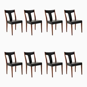 Rosewood Dining Chairs by Robert Heritage, 1960s, Set of 8