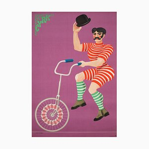 Circus Poster by Hubert Hilscher , 1970s