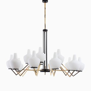 Mid-Century Ceiling Lamp from Stilnovo