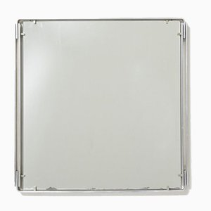 Vintage Mirror in Stainless Steel, 1960s
