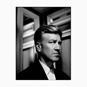 David Lynch Framed in White by Kevin Westenberg